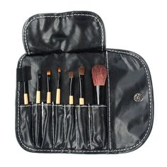 Professional 1set 7 pcs Professional Synthetic Hair Cosmetic Makeup Brush blush Brushes Set for FaceEyeLip Cheap