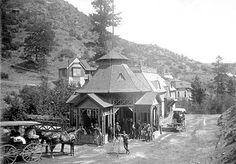 Iron Springs Hotel ~ Manitou Springs Colorado ~ 1872