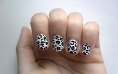 panterprint nail art