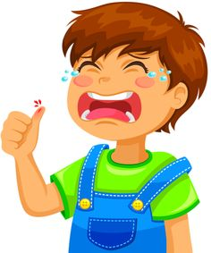 Illustration about Little boy crying because of a cut on his thumb. Illustration of elementary, finger, cute - 24562060 Cartoon Caracters, Boy Crying, Picture Writing Prompts, Foam Crafts, Cartoon Pics, Character Development, Kindergarten Activities, Speech And Language, Colouring Pages