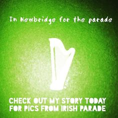 Gonna be in Newbridge for the parade! Check out my insta-story for some pics... 🇮🇪 #Ireland #stories #saintpatricksday #stpattysday  #stpatricksday #pattysday #paddysday #patricksday #insta #instagram #instagood #instacool #instadaily #followfriday #ff #parade #newbridge #kildare #beautiful #eire #green #🇮🇪 #shamrock 💚 #☘️ #🍀 Paddys Day, Insta Instagram, Insta Story, Ireland, Letters, Engagement, Photo And Video, Green, Check