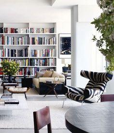 Open. Modern. But cozy. Love.