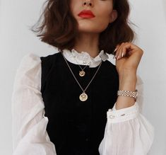 Image about fashion in la mode by le coquelicot Trend Fashion, Moda Fashion, Fashion Beauty, Fashion Looks, Womens Fashion, Estilo Preppy Chic, Looks Style, Style Me, Mode Outfits