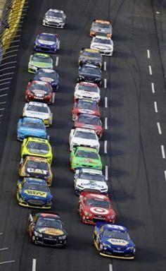 The start of the 2013 Sprint Showdown