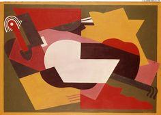 Albert GLEIZES. Untitled.  1921. Oil on canvas. Size in Cm: 92 x 65.