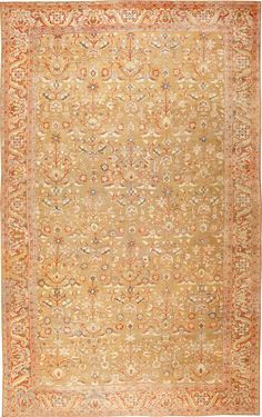 Persian Antique Sultanabad Rug, Country of Origin / Rug Type: Persian Rugs, Circa Date: 1900 15 ft x 24 ft 6 in (4.57 m x 7.47 m)