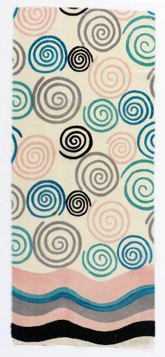Sonia Delaunay, Spirales bordées de lignes sinueuses