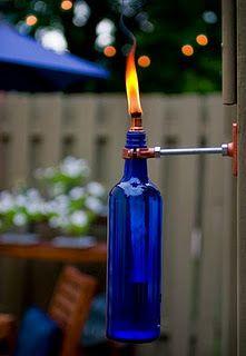 DIY patio torch