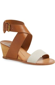 Crushing on these trendy wedge sandals from Dolce Vita! The crisscrossing straps add an effortlessly chic vibe.