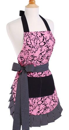 I LOVE this site. Cute Vintage 1950 Retro Aprons.