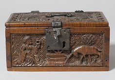 Coffret- Date: late 15th century Geography: Made in Upper Rhineland, Germany Culture: German Medium: Maple