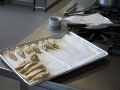 Des dumpling au loup-marin et au Kimchi!