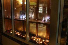 The shop window as night draws in.  www.jondibben.co.uk #jondibben #cranleigh #finejewellery