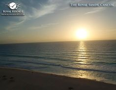 A gorgeous start of a brand new day in paradise. :) (Photo by Joe K) #theroyalsands #royalresorts #cancun #beach #mexico #paradise
