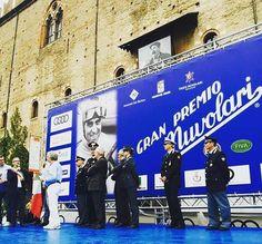 🏆🏆🏆 #PremioNuvolari in #PiazzaSordello a #Mantova 🚩 START !!! #TazioNuvolari #GranPremioNuvolari #mantova2016 #vintage #cars #motori #event #igersmantova