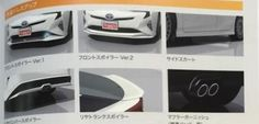 Awesome Toyota Prius 2017: 2016 Toyota Prius with TRD goodies leaks out early... Check more at http://24auto.tk/toyota/toyota-prius-2017-2016-toyota-prius-with-trd-goodies-leaks-out-early/