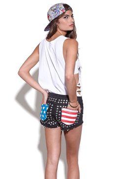 Reverse American Pocket Shorts #pacsun