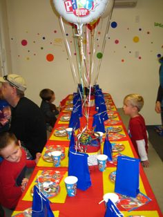 Tom and Jerry Party I threw for Thomas