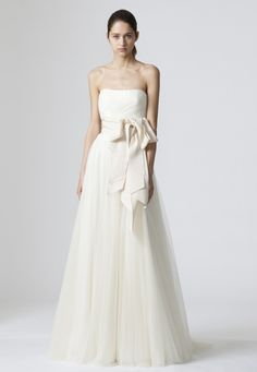 the bow Wedding Dresses, Bridal Gowns by Vera Wang | Iconic