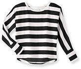 Mambo® Girls' 7-16 Hi-Low Striped Top