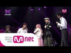 [Mnet 트로트엑스] 옥탑뽕(리라,김용빈,유채훈,주성원,양지원) - 허공 @트로트X 6회 - YouTube