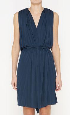 Lanvin Teal Dress.