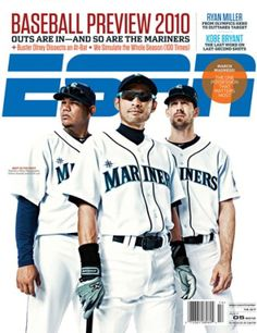 Felix, Ichiro and Cliff Lee on the cover of ESPN the Magazine.