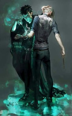 I don't ship Drarry, but I really like the idea of Harry helping to save and redeem Draco