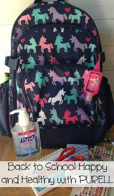 Take the PURELL 30-day challenge to go Back to School Happy and Healthy with PURELL