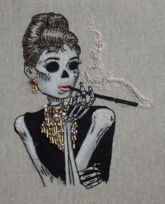Audrey Embroidery. - Create Some Crap