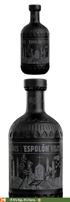 New Espolòn Añejo X Limited Release Tequila  (El Espolòn Tequila Extra Añejo) comes in an interesting bottle