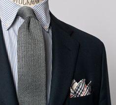 Fantastic knit tie
