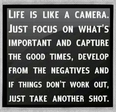 Focus on what's in front of you. #LiFEisNOW