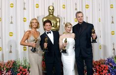 76th Academy Awards (February 29, 2004) Academy Awards to honor the best films of 2003 that played in the US - Best Actress - Charlize Theron – Monster, Best Actor - Sean Penn – Mystic River, Best Supporting Actress - Renée Zellweger – Cold Mountain,  & Best Supporting Actor - Tim Robbins – Mystic River