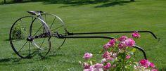 Antique Harrow Cart Horse Drawn Harrow Sulky Primitive Rare