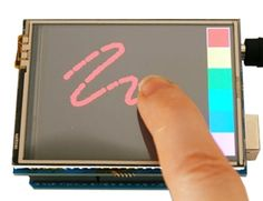 """2.8"""" TFT Touch Shield For Arduino"""