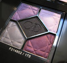 Dior Night Butterfly, LE eyeshadow palette clear winter
