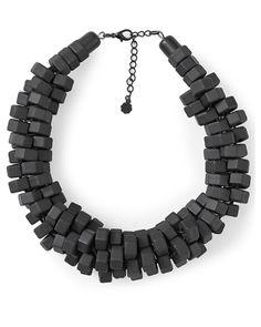 Pieces Necklace Daxana Black