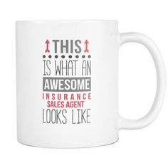 Awesome Insurance Sales Agent mug is a perfect gift for any Insurance Sales Agent coffee or tea drinker. For his birthday or Christmas. WITH THIS MUG, YOU CAN MAKE YOUR Insurance Sales Agent friends L