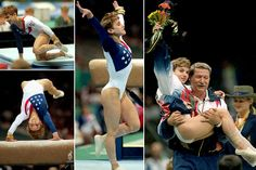 kerri strug - vaulted on a broken leg to win a gold medal, was known before this moment as someone who didnt necessarily do her best on the big stage.when you fall down, get back up and try again, you might just end up as a hero like Kerri Special Olympics, Summer Olympics, Usa Olympics, All About Gymnastics, Elite Gymnastics, Women's Gymnastics, Amazing Gymnastics, Mary Lou Retton, Female Gymnast