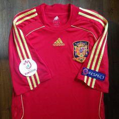 0c35e5b87acf UEFA Euro 2008 Austria-Switzerland Spain Home Jersey    Primera Equipación  de la Selección