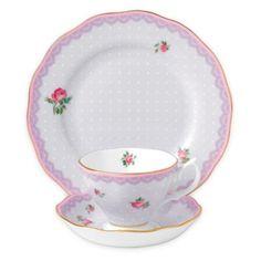 Royal Albert Candy Love Lilac Tea Collection - BedBathandBeyond.com