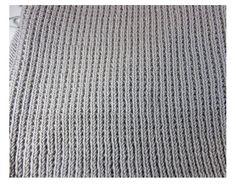 point de sable envers du tricot