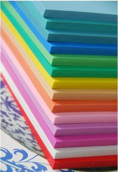 Large Colored Rubber Stamp Carving Blocks for DIY own by minitoba, $6.49