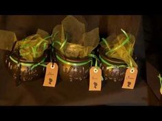 Do it yourself Halloween Chaudron de sorcière vert et noir - YouTube