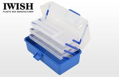 Wholesale & Manufacture Lure Tackle Element Box Case Cabinet Storage Container Organizer Clear Plastic Adjustable Compartments Sturdy--  High Quality & Low Price Is Available