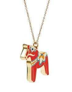 Image 4 ofRosie Wonders Dala Horse Necklace