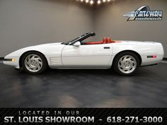 1994 Chevrolet Corvette Convertible  - Stock #5749-STL