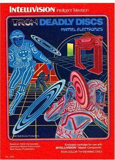 Mattel Electronics TRON Video Games Commercial (1983)