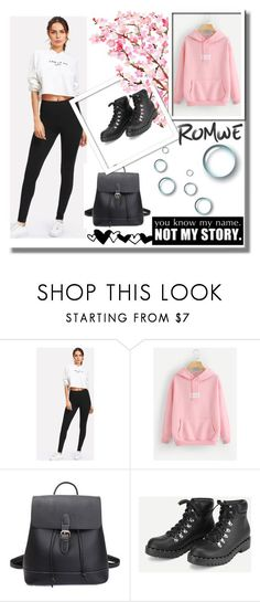 """Romwe 3"" by medinicab ❤ liked on Polyvore"